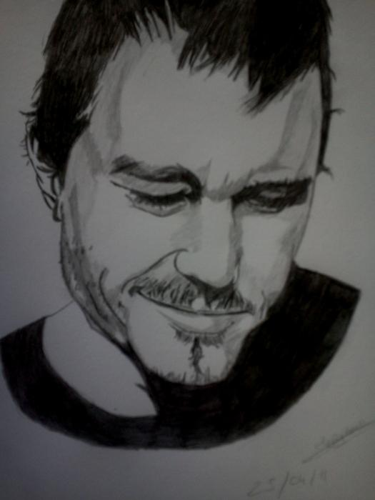Heath Ledger por Ikigami